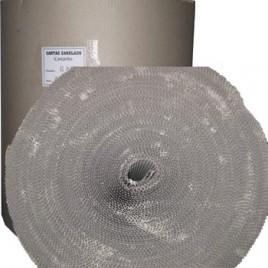Cartao Canelado Castanho 140cmx60m Bobine (+/- 37kg)