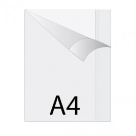 Capa Plastico Protectora de Livros Transparente A4