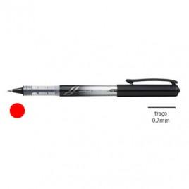 Marcador Uniball  Insight UB211 0,7mm Vermelho – 1un