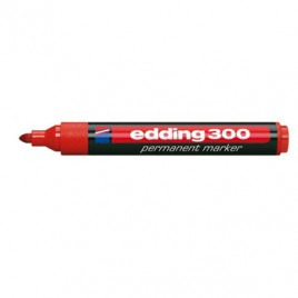 Marcadores Medio Edding 300 Vermelho 1un
