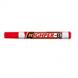 Marcador Permanente MonAmi HighPer-B Vermelho 1 unid