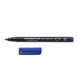 Marcador Perm. Medio Lumocolor 317-3 Azul