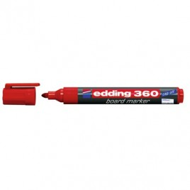 Marcador Quadros Brancos Edding 360 Vermelho – 1un
