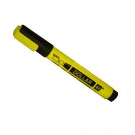 Marcador Fluorescente Dollar HSL90 Amarelo-1un
