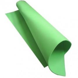 Placa de Cor Musgami 50x65cm, 2mm espessura, Verde