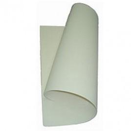 Placa de Cor Musgami 50x65cm, 2mm espessura, Branco