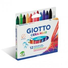 Lapis de Cera Giotto Maxi 12 Cores