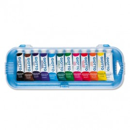 Guache Giotto 7,5ml Cores primarias Cx 12