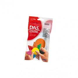 Pasta de modelar DAS Color Laranja 150gr