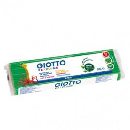 Plasticina Giotto Patplume 350gr Verde Claro