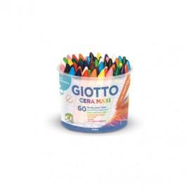 Lapis de Cera Giotto Maxi 60unid (5X12 cores)