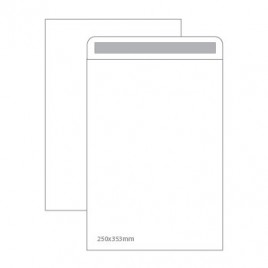 Envelopes Saco Branco 250X353mm Cx 250un  (13819) Autodex 90gr