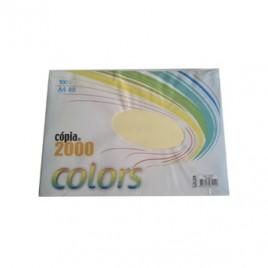 Papel Fotocopia Copia 2000 A4 80gr Amarelo 100Fls
