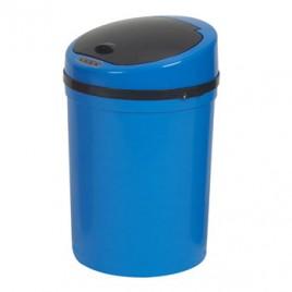 Cesto Papeis Plastico c/Sensor 9 Litros-Azul (usa 4 Pilhas LR6 (AA) nao incluidas)