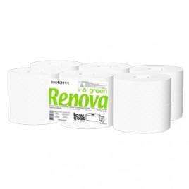 Papel Higienico (Jumbo) RenovaGreen 2Fls 90mts (Pack12)