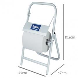 Suporte Renova P/Rolo Papel Industrial 350mm, (102x44x47cm)