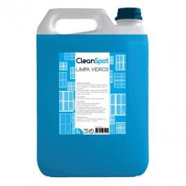 Detergente Limpa Vidros Cleanspot (5 Litros). É um limpa vidros multi-usos recomendado, para limpeza de vidros, cerâmica, fórmica, melamina, lacados, espelhos, azulejos, material de escritório, etc.