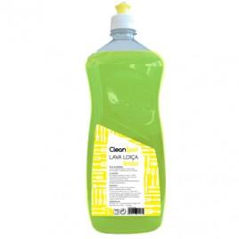 Detergente Loiça Cleanspot Limão (1 Litro). É um detergente líquido para a lavagem  de loiça, porcelanas, cristais, panelas.