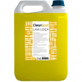 Detergente Loiça Limao Manual Cleanspot  (5 Litros). É um detergente líquido para a lavagem  de loiça, porcelanas, cristais, panelas.