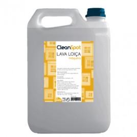 Detergente Loiça líquido Máquina Cleanspot (5L). Ideal para a lavagem de loiça e para limpezas de rotina de bancadas, balcões, paredes, pavimentos.