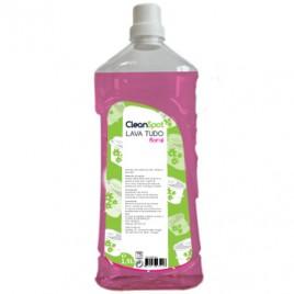 Detergente Lava Tudo Floral Cleanspot (1,5 Litros) É um detergente multi-uso perfumado concentrado bactericida todo o tipo para superfícies, sanitários, etc.