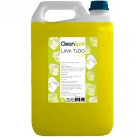 Detergente Lava Tudo Limão Cleanspot (5 Litros) É um detergente multi-uso perfumado concentrado bactericida todo o tipo para superfícies, sanitários, etc.