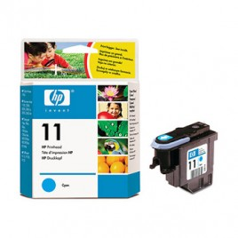 Cabeca de Impressao HP Business InkJet 1100/1200d/1200dtn/1200dtwn/2200/2230/2250/2250TN/2280/2280TN/2300/2600/2600DN/2800DT/CP1700/CP1700D/CP1700PS/DesignJet 100/110Plus/111/500/510/10ps/20ps/50ps/120/120nr/     OfficeJet 9130  Nº11 Azul