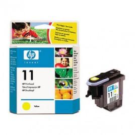 Cabeca de Impressao HP Business InkJet 1100/1200d/1200dtn/1200dtwn/2200/2230/2250/2250TN/2280/2280TN/2300/2600/2600DN/2800DT/CP1700/CP1700D/CP1700PS/DesignJet 100/110Plus/111/500/510/10ps/20ps/50ps/120/120nr/     OfficeJet 9130  Nº11 Amarelo