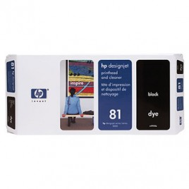 Cabeca de Impressao e Limpeza DesignJet 5000/5000PS/5500 Nº81 Preto