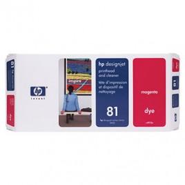 Cabeca de Impressao e Limpeza DesignJet 5000/5000PS/5500 Nº81 Magenta