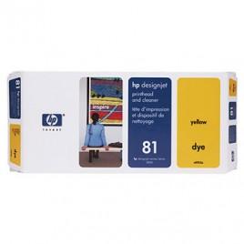 Cabeça de Impressao e Limpeza DesignJet 5000/5000PS/5500 Nº81 Amarelo