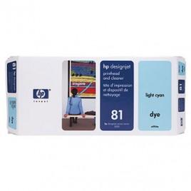 Cabeca de Impressao e Limpeza DesignJet 5000/5000PS/5500 Nº81 Azul Claro