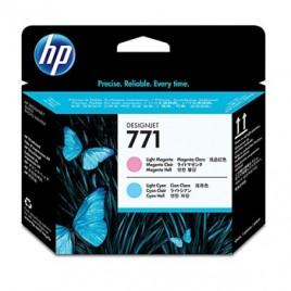 Cabeca de Impressao HP 771 DesignJet Z6200 Photo Series Magenta Claro/Azul Claro