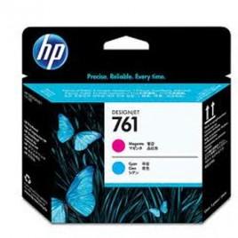 Cabeca de Impressao HP 761 para Designjet T7100 Magenta/Azul