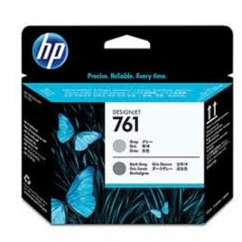 Cabeca de Impressao HP 761 para Designjet T7100 Cinza/Cinza Escuro