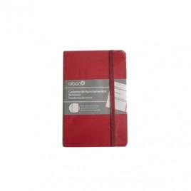 Bloco Notas Liso 142x96mm 80gr 96 Folhas Vermelho 1un