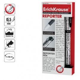Esferografica EK Reporter 0,5 Preto Cx 12un