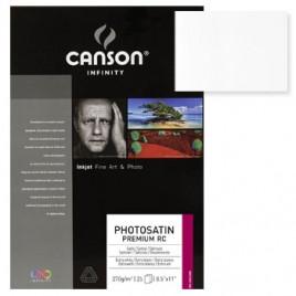 Papel Canson Infinity PhotoSatin Premium RC A3 270gr 25Fls