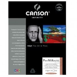 Papel Canson Infinity PrintMaking 610x914mm 100% 310g 25Fls