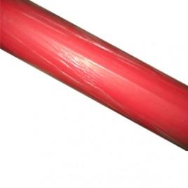 Papel Embrulho Fantasia 62cmx200mts Bobine 7Kg Vermelho Liso