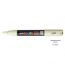Marcador Uniball Posca PC1M 0,7mm Marfim -1un