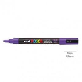 Marcador Uniball Posca PC3M 0,9mm Violeta -1un