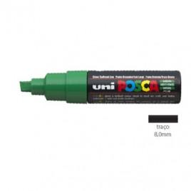 Marcador Uniball Posca PC8K 8,0mm Verde -1un