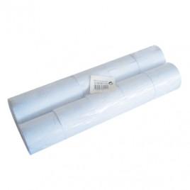 Rolos Papel Autocopiativo 57x50x11/2 (Branco/Branco) Pack10