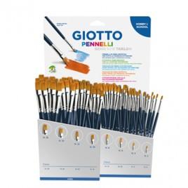Pincel para Guache e Aguarela Giotto Art 600 Taklon Sort 96u
