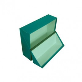 Caixa Arquivo Frances (365x280x100mm) Almaco Verde – 1un