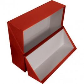 Caixa Arquivo Frances (365x280x100mm) Almaco Vermelho – 1un