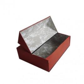 Caixa Arquivo Frances (365x280x100mm) Almaco Laranja – 1un