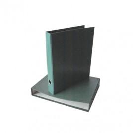 Pasta Arquivo Fibra Almaco Verde c/Caixa 310×290 L40 s/rotul