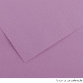 Cartolina 185gr 1 Folha 50x65cm Canson Iris Lilas